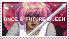 Once and Future Queen Stamp