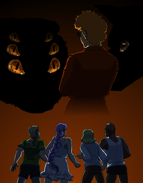 Monsters in the Shadows by ErinPtah