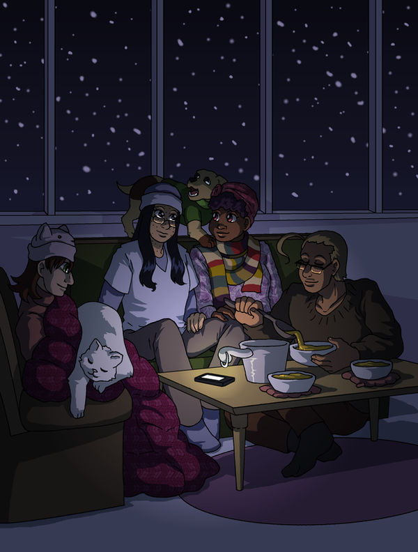 Cold Winter Nights Indoors