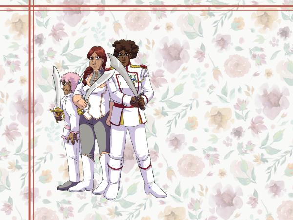 Wallpaper - Scimitar Hearts by ErinPtah