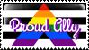 Ally Pride Stamp