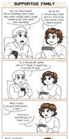 Webcomic Woes 22 - Family matters