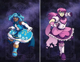 Undine and Kokoro by ErinPtah