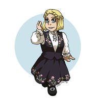 Formal Bunad, Cute Shoes by ErinPtah