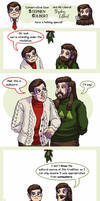 An 'Into The Colbert-verse' Christmas by ErinPtah