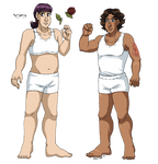 #OCdressup - Leif and Thorn