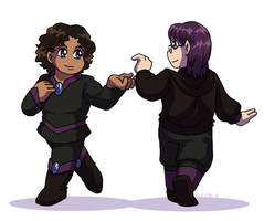 Take My Hand, Let's Dance by ErinPtah