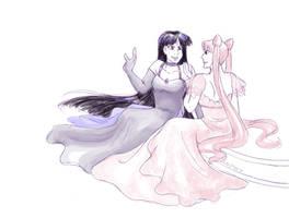 Conspicuous Princesses by ErinPtah