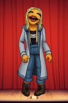 Muppet Doctors - Thirteen by ErinPtah