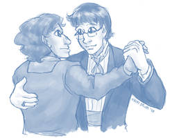 Fancy waltzing by ErinPtah