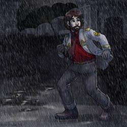 Agent in the Rain
