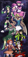 More Magical Girls of Webcomics, Unite!
