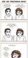 Webcomic Woes 29 - Are we...prestigious, now?