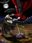 Moor Duel by Moonlight