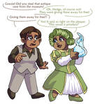 Hedge and Grassie - Priceless by ErinPtah