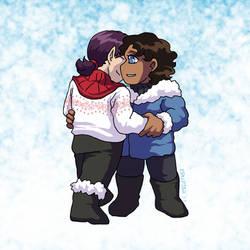 Snowy Hug