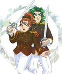 Heartswords - Wakaba and Saionji
