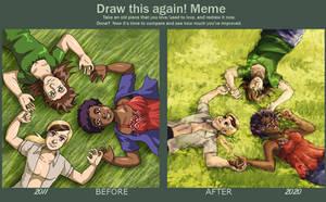 Draw This Again - Green Grass
