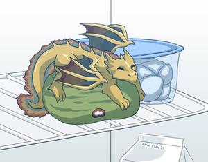 Fridge Dragon