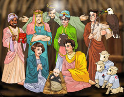 A Colbert Nativity by ErinPtah