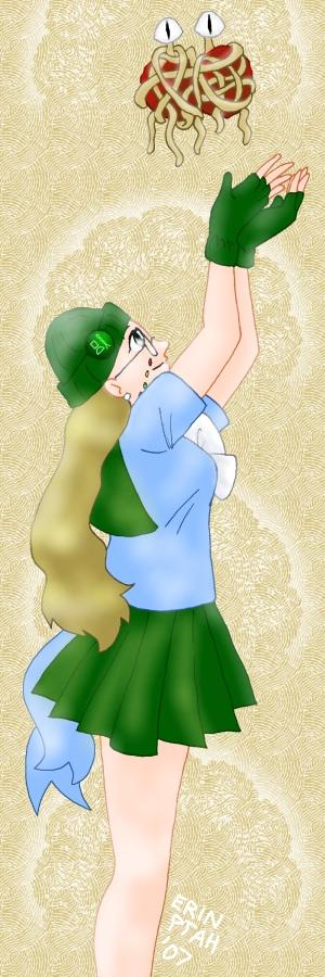 Sailor Ptah and FSM-P by ErinPtah