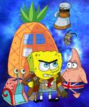 Doctor SpongeWho SquarePants