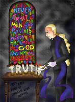 'God Thinks...' by ErinPtah