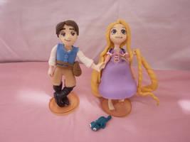 Rapunzel Flynn Pascal by Neko-Leara