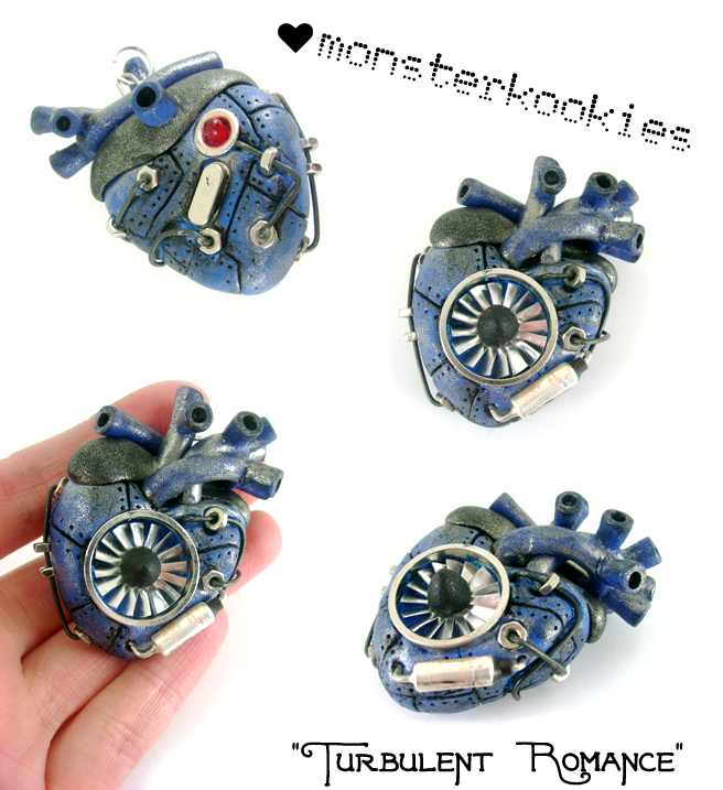 Turbulent Romance by monsterkookies