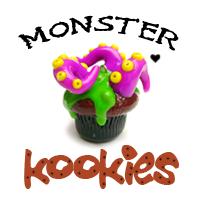 Monster Kookies Logo Banner by monsterkookies