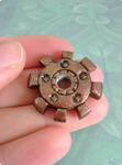 Sparkling Copper Gear