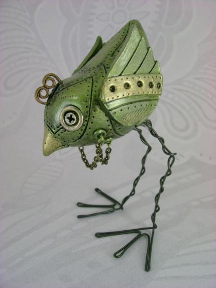 Oliver, The Mechanical Birdie by monsterkookies