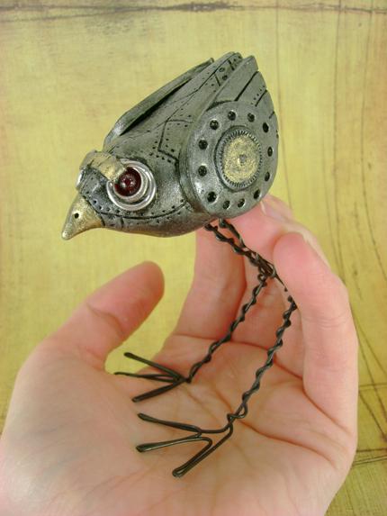 Gravely The Mechanical Birdie by monsterkookies