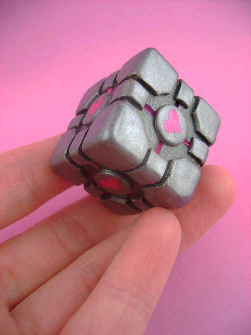 Weighted Companion Cube by monsterkookies