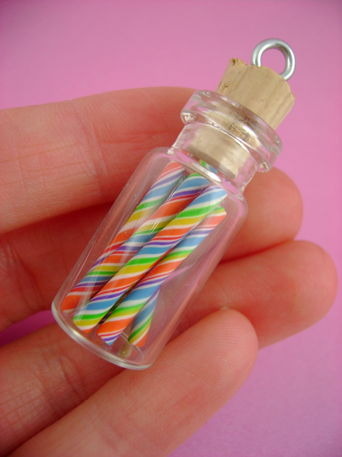 Tutti Frutti Rainbow Candy Sticks by monsterkookies