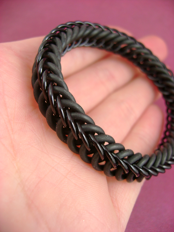 Signature Blackmaille Bracelet by monsterkookies