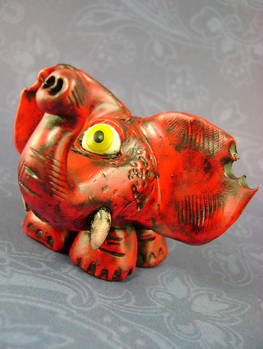 Victor The One-Eyed Elephant