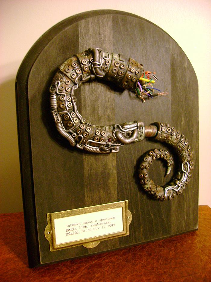 Severed Mechanical Tentacle Specimen by monsterkookies