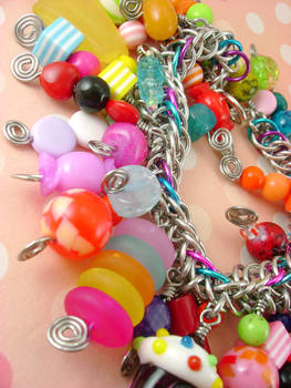 Candyland Chainmaille Bracelet