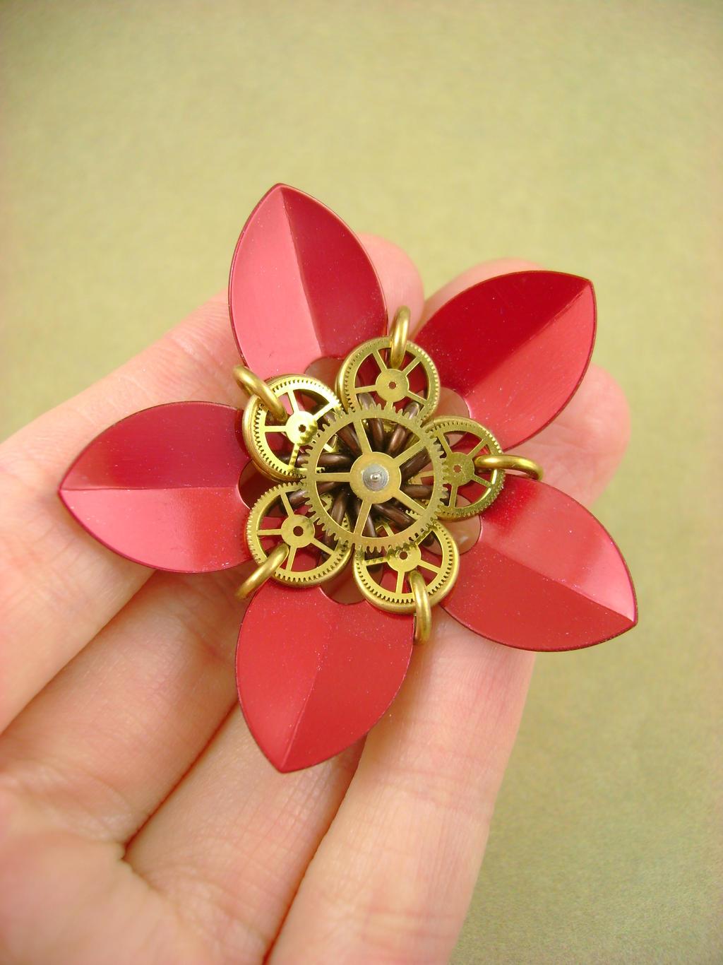 Gearmaille Flower - Even Better! by monsterkookies