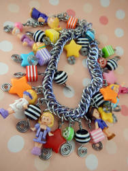 Polly Pocket Limited Edition Charm Bracelet