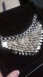 Scalemaille Necklace WIP