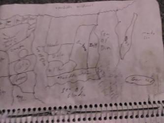 Earth  X2 dragon life map by Rhuen1