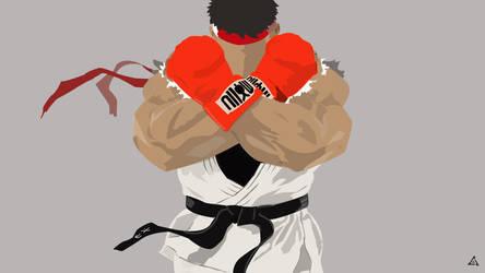 Ryu of Street Fighter V