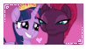Twilight Sparkle x Tempest Shadow - Stamp by DannyMoMochi
