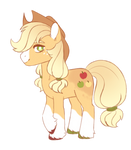 applejack is such a silly pony