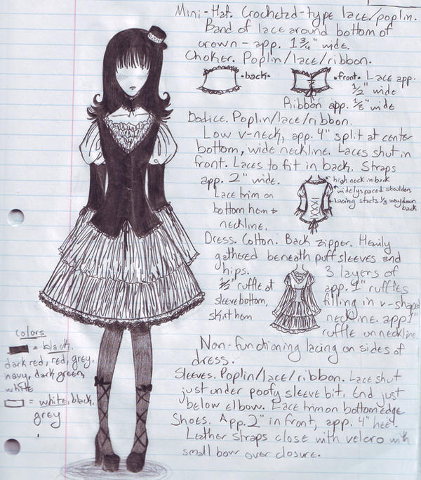 fairytale lolita by KiraKira713