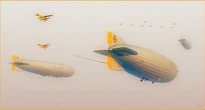 The Kaisers Airships