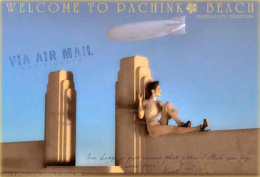 VIA AIR MAIL by donaguirre