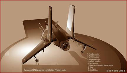 SEN-7A rear view by donaguirre